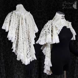 Capelet bridal lace, Somnia Romantica by M Turin by SomniaRomantica