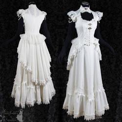 Victorian Art Nouveau bridal gown,Somnia Romantica by SomniaRomantica
