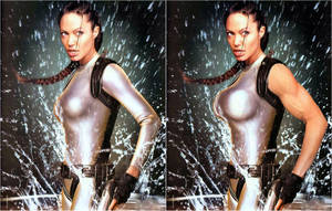 Angelina Jolie Muscle Growth by WIZZLE11