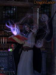 Raistlin Majere - Dragonlance by Hisoka16