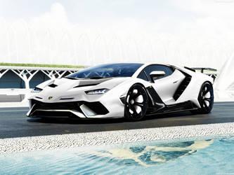 Lamborghini-Avantage concept-2019 by jhonconnor