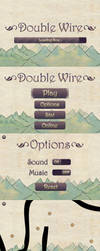 Double Wire Game Interface by moyicat