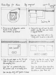 Mac NoteApp Draft by moyicat