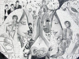 Kagrra: Music of the Gods by PaznovoL