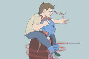 GotG- Yondu Is Best Dad by NinjaSniperKitty