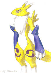 Renamon_ final coloring by Henrry2012