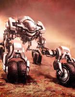 Marsexplorer by Gryphart