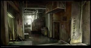Dark_Corridor_01 by Gryphart