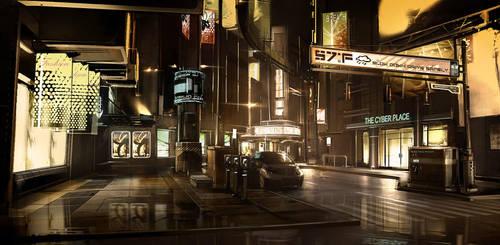 Detroit_Street_2027 by Gryphart