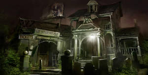 Haunted_House_Process_Final by Gryphart