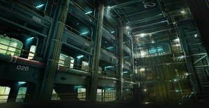 Cargo_Storaghold Deus Ex 3 DLC by Gryphart