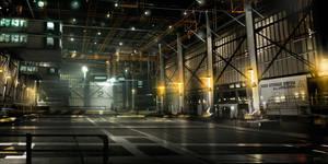 Ocean_Base_Hangar Deus Ex 3 DLC by Gryphart