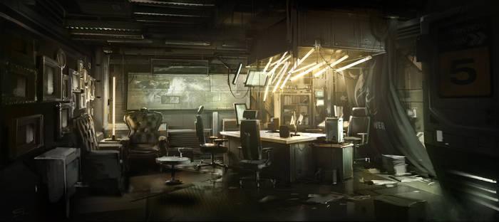 BurkeRoom Deus Ex 3 DLC by Gryphart