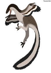 Dinovember Day 9: Deinonychus anthirropus by TroodonVet