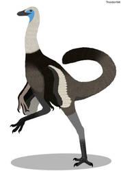 Dinovember Day 11: Beishanlong grandis by TroodonVet