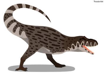 Dinovember Day 14: Tyrannosaurus rex by TroodonVet