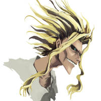 All Might - true form by WindHydra