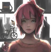 Sayori by WindHydra