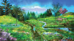 Meadow of Life by ToddimusDesign