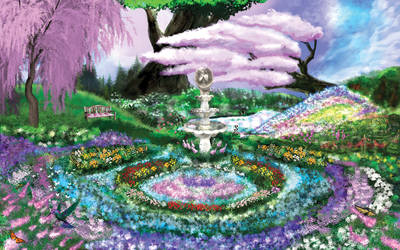 Rebecca's Garden by ToddimusDesign