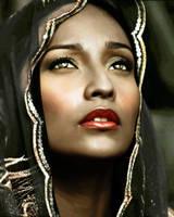Black Madonna by anthuriumgirl