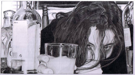 Alcoholism by ScarlettPopsicle
