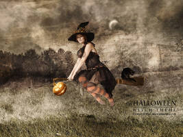 Halloween - Witch theme by Mish-A-Man