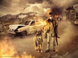 Apocalypse Warriror by Mish-A-Man