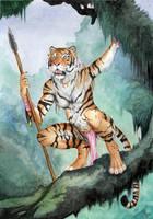 Jungle Huntress by Ashalind