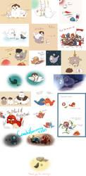Les Miserables 2012 doodles by ayurelacteus