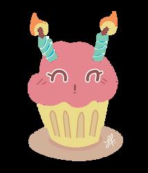 Chibi Cake by Sharriss