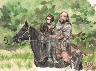 Got4 Arya The Hound Web by Sharriss