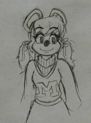 random mitzi by DorkyDarkwing