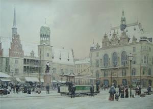 Markt in Halle by voitv