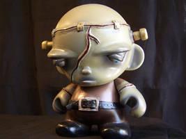 Franklin JR, custom Munny by AliasGhost