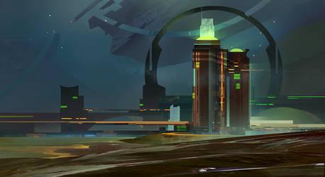 skyline by KHIUS
