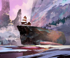 cliff by KHIUS