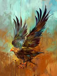 eagle by KHIUS