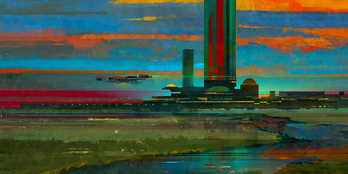 sunset by KHIUS