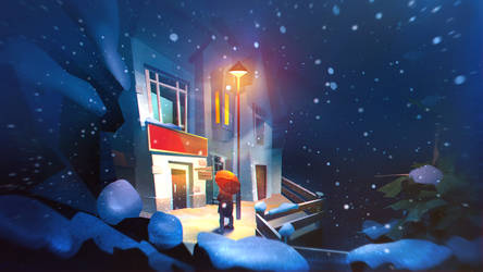 winter by KHIUS