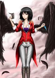 Crow of the Tempest - Aya Shameimaru by MakashiVT