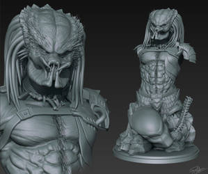 Predator 3D Print WIP by FoxHound1984