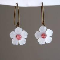 Cherry Blossom Earrings 2 by lulabug