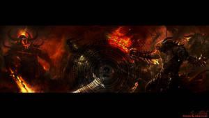 GW2 Demon Wallpaper by AngelicBond