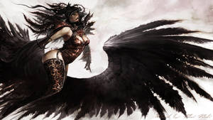 GW2 Wallpaper Fly by AngelicBond