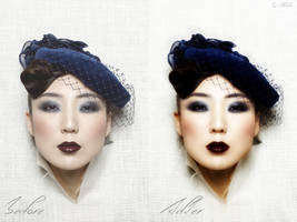 AsianArt Befor and After by AngelicBond