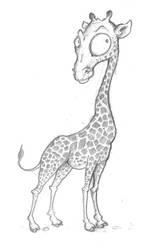 Girafe by Imeldouze