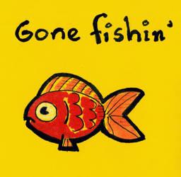 Gone fishin' by Imeldouze