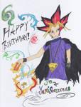 Birthday gift to Yami Sorcess by Chibimita