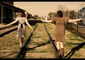 Train Tracks by singingaway